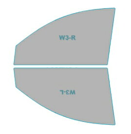 カーフィルム カット済み 運転席 助手席 シルフィード FGR-500 トヨタ シエンタ 【NPC8#G型】 年式 H23.6-H27.6 車用品 バイク用品 車用品 アクセサリー 日除け用品 カーフィルム 赤外線カット 断熱フィルム