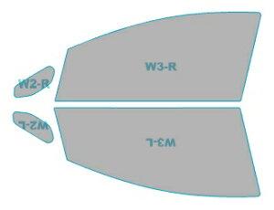 スパッタシルバー 運転席 助手席 カーフィルム カット済み 日産 ノート e-POWER 【HE12型】 年式 H28.11- 車用品 バイク用品 車用品 アクセサリー 日除け用品 カーフィルム