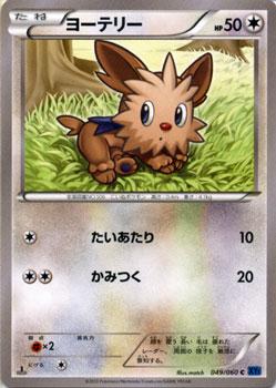 ポケモンカードゲーム XY ヨーテリー / XY1 コレクションX / XY1 / Pokemon   ポケモン カード ポケモンカード ポケカ ポケットモンスター XY 拡張パック 拡張 パック コレクション