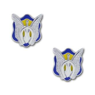 美国军队嵴-17 骑兵团国服为美国陆军军事徽章 2 件