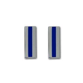 アメリカ海軍 階級章 コート章 准士官 5等准尉(W-5)【ニッケルメッキ】