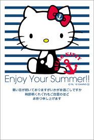 ハローキティ サマーカード はがき ポストカード 4枚入(郵便はがき)マリンデザイン 75501