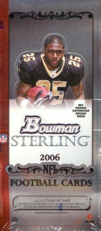 ★セール★ 【NFLカード】 NFL 2006 Bowman Sterling Pack (パック)