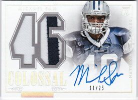 コーディー・ラティマー 2014 National Treasures Rookie Colossal Materials Jersey Auto 25/99 Cody Latimer