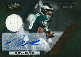 ジェレミー・マクリン NFLカード Jeremy Maclin 2011 Absolute Memorabilia Absolute Heroes Jersey Autographs 08/10