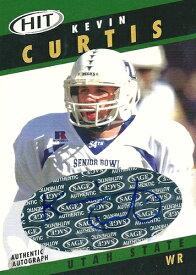 ケビン・カーティス NFLカード Kevin Curtis 2003 Sage Hit Autographs