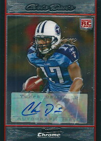 クリス・デービス NFLカード Chris Davis 2007 Bowman Chrome Rookie Autographs