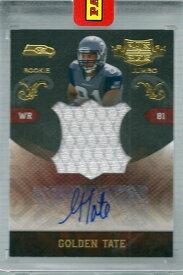 ゴールデン・テイト NFLカード Golden Tate 2010 Panini Plates and Patches Rookie Jumbo Jerseys Autographs 09/10