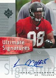 ジャマール・アンダーソン NFLカード Jamaal Anderson 2007 Ultimate Collection Ultimate Signatures