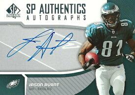 ジェイソン・アバント NFLカード Jason Avant 2006 SP Authentic Autographs