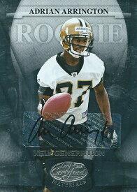 エイドリアン・アリントン NFLカード Adrian Arrington 2008 Leaf Certified Rookie Autographs 652/999