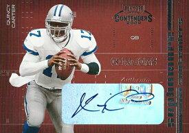 クインシー・カーター NFLカード Quincy Carter 2002 Playoff Contenders Sophomore Contenders Autographs 204/300