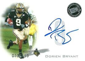 ドリアン・ブライアント NFLカード Dorien Bryant 2008 Press Pass Autographs 013/199