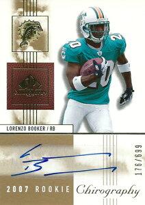 ロレンツォ・ブッカー NFLカード Lorenzo Booker 2007 SP Chirography Rookie Autographs 176/699