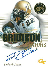 タシャード・チョイス NFLカード Tashard Choice 2008 Press Pass SE Gridiron Graphs