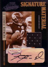 アントワン・ランドルエル NFLカード Antwaan Randle El 2004 Playoff Absolute Memorabilia Signature Material 118/119