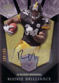 ラシャード・メンデンホール NFLカード Rashard Mendenhall 2008 UD Icons Rookie Brilliance Autographs 100/165