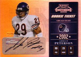 エイドリアン・ピーターソン NFLカード Adrian Peterson 2002 Playoff Contenders Rookie Ticket Autographs 161/360