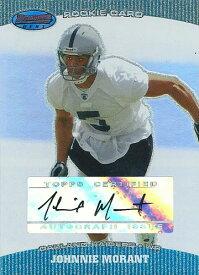 ジョニー・モラント NFLカード Johnnie Morant 2004 Bowman's Best Rookie Autographs