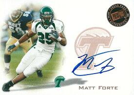 マット・フォルテ NFLカード Matt Forte 2008 Press Pass Autographs Bronze