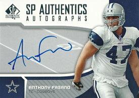アンソニー・ファサーノ NFLカード Anthony Fasano 2006 SP Authentic Autographs