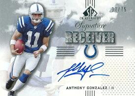 アンソニー・ゴンザレス NFLカード Anthony Gonzalez 2007 SP Chirography Signature Receiver 37/75