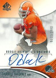 ダレル・ハクニー NFLカード Darrell Hackney 2006 SP Authentic Rookie Autographs