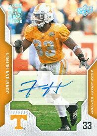 ジョナサン・ヘフネー NFLカード Jonathan Hefney 2008 UD NFL Draft Edition Autographs