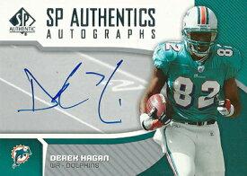 デレック・ヘイガン NFLカード Derek Hagan 2006 SP Authentic Authentics Autographs