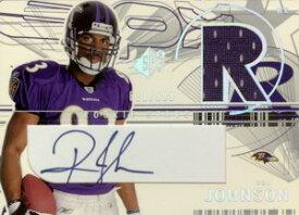 ロン・ジョンソン Ron Johnson 2002 SPx Signed Rookie Jersey 999枚限定!