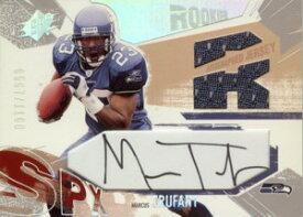 マルクス・トラファント Marcus Trufant 2003 SPx Rookie Autographed Jersey 1