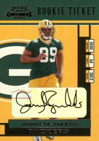 ジャマル・レイノルズ Jamal Reynolds 2001 Playoff Contenders Rookie Ticket Autograph