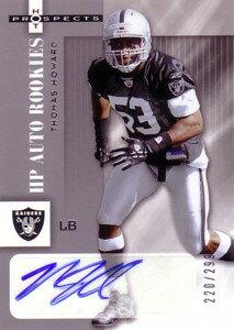 トーマス・ハワード Thomas Howard 2006 Hot Prospects Rookie Autograph 299枚限定!
