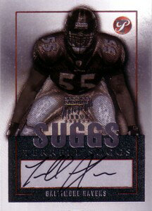 テレル・サグス Terrell Suggs 2003 Topps Pristine Autographs