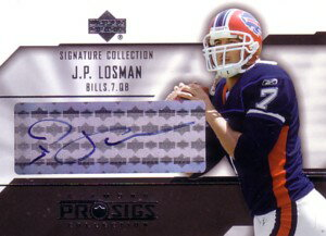 J.P.ロスマン J.P.Losman 2004 UD  UD Diamond Pro Sigs Signatutre Collection