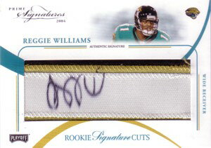 レジー・ウィリアムス Reggie Williams 2004 Playoff Prime Sigatures Rookie Autograph 99枚限定!