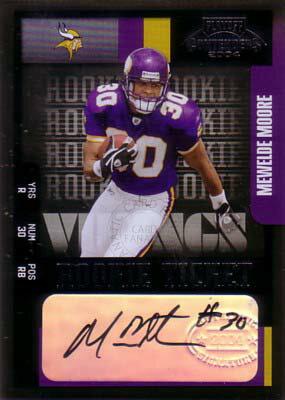 ムウェルド・ムーア Mewelde Moore 2004 Playoff Contenders Rookie Ticket Autograph 435枚限定!