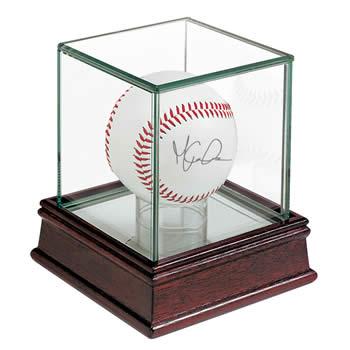 ウルトラプロ(UltraPro) サインボールケース UVカット仕様 木製ケース (#81706) Deluxe Baseball Holder UV