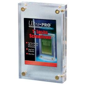 1インチスクリューダウン (4つネジ・タイプのカード収納用ケース) Ultra Pro ウルトラプロ(#81142)