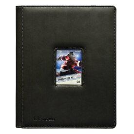 ウルトラプロ(Ultra Pro) 9ポケットウィンドウポートフォリオ ブラック 20ページ #85627 | Window Premium PRO-Binder