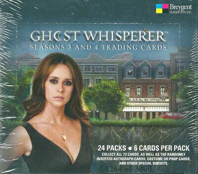 【ゴースト〜天国からのささやき】シーズン 3 & 4 トレーディングカード セット / Ghost Whiserer Season 3&4 Trading Cards