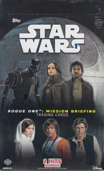 ローグ・ワン/スター・ウォーズ・ストーリー 2016 Topps STAR WARS Road to Rogue One (Rogue One Mission Briefing) トレーディングカード パック(Pack)9/30入荷!