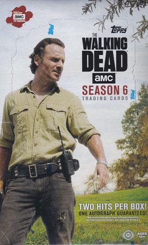 (セール)ウォーキング・デッド 2017 Topps The Walking Dead Season 6 トレーディングカード ボックス(Box)
