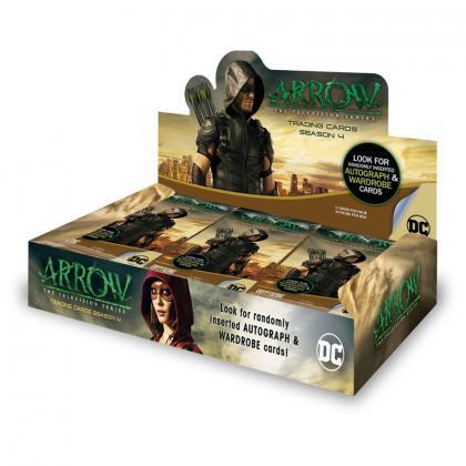 ARROW/アロー 2017 Cryptozoic DC Arrow Trading Cards Season 4 トレーディングカード Pack(パック)