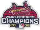【3/15入荷!】 MLB 【セントルイス カージナルス】 2006ワールドシリーズ優勝記念 ロゴパッチ (メジャーリーグベースボール) (野球) (St.Louis Cardinals) (Logo