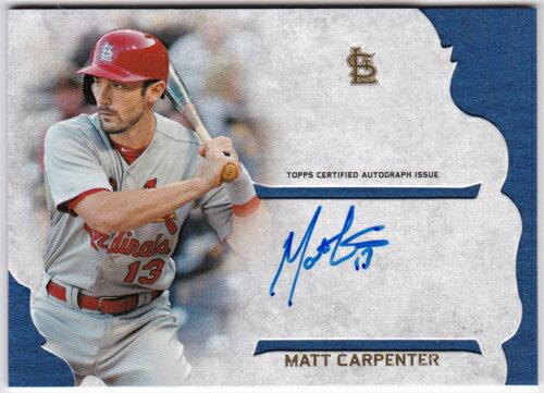 マット・カーペンター 2015 Topps Supreme Simply Supreme Autographs Matt Carpenter