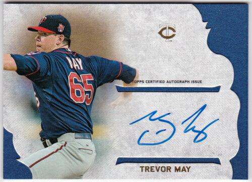 トレバー・メイ 2015 Topps Supreme Simply Supreme Autographs Trevor May