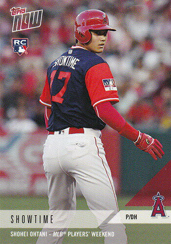 大谷翔平 2018 ANGELS TOPPS NOW MLB PLAYERS WEEKEND 5-CARD TEAM SET カードセット (5枚入り) - Shohei Ohtani MLB Topps Now Card 10/1入荷