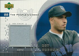 レイ・オルドニェス MLBカード Rey Ordonez 2002 Upper Deck People's Choice Game Jersey