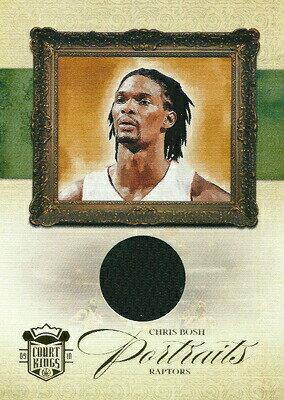クリス・ボッシュ NBAカード Chris Bosh 09/10 Court Kings Portraits Materials 297/299